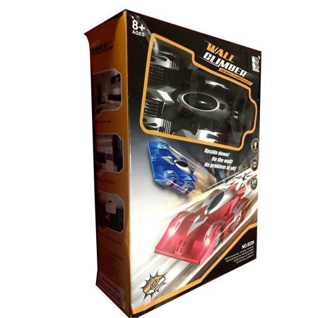 Best Gifts For 7 Year Olds (Wall Climbing Car for Boys - Easy to Operate Remote Control Car for Boys, Best Gift Car Toy for 3 to 7 Year Old Boys, Fast Stunt Car that climbs)