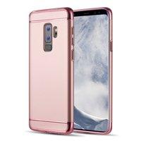 MUNDAZE Rose Gold Luxury Sleek Ultra Thin Case For Samsung Galaxy S9 PLUS Phone