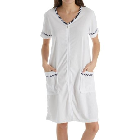 Women's KayAnna G04056 Terry Front Zip Robe