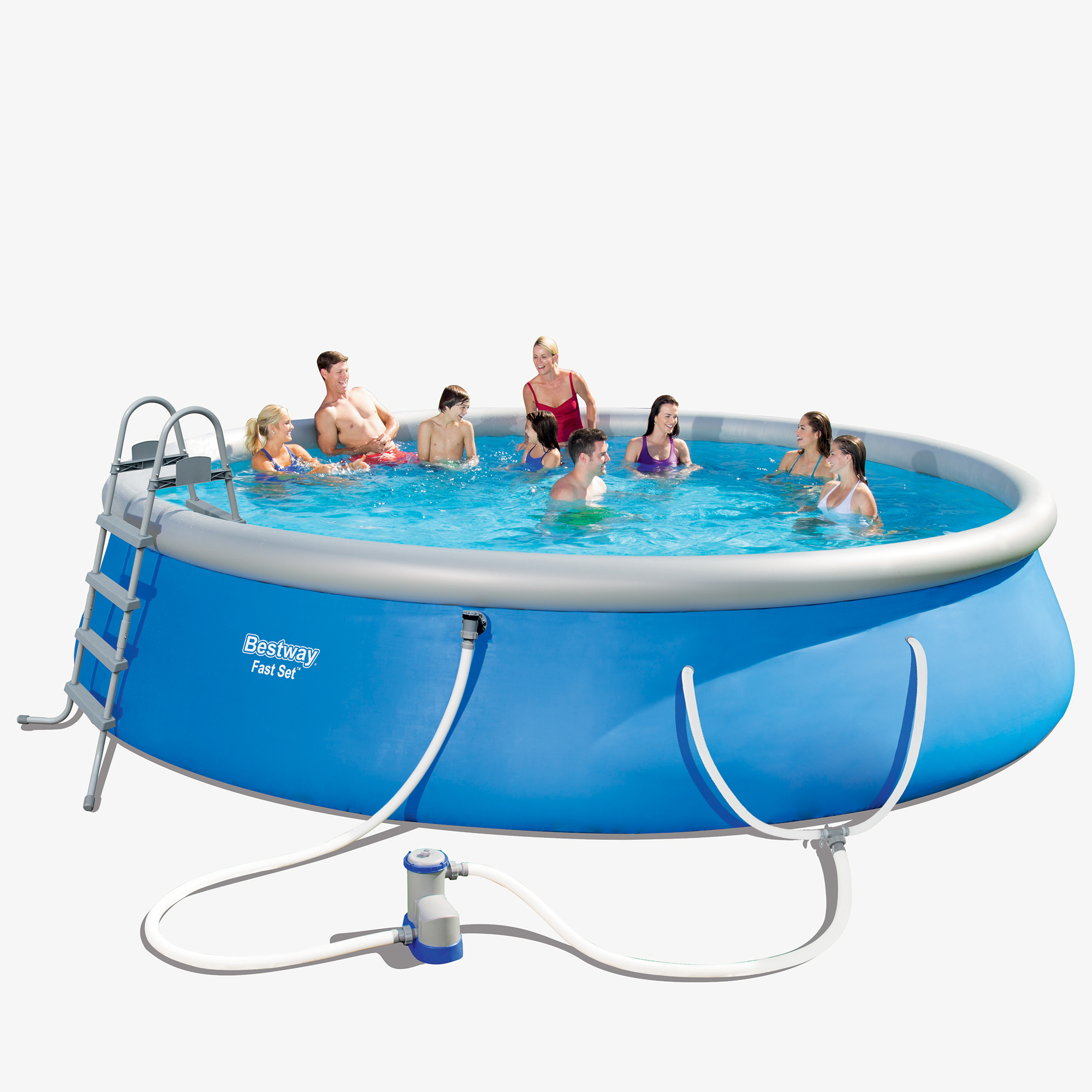 Bestway Fast Set 18 X 48 Quot Swimming Pool Set With Pump