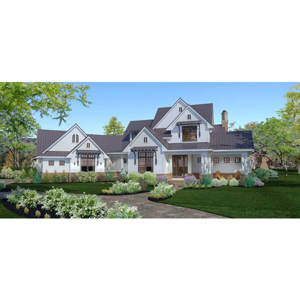 TheHouseDesigners-3151 Construction-Ready Large Farm House