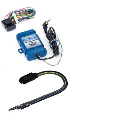 PAC SWI-RC Steering Wheel Control Interface+PAC TR1 Video Lockout Bypass  Trigger Module
