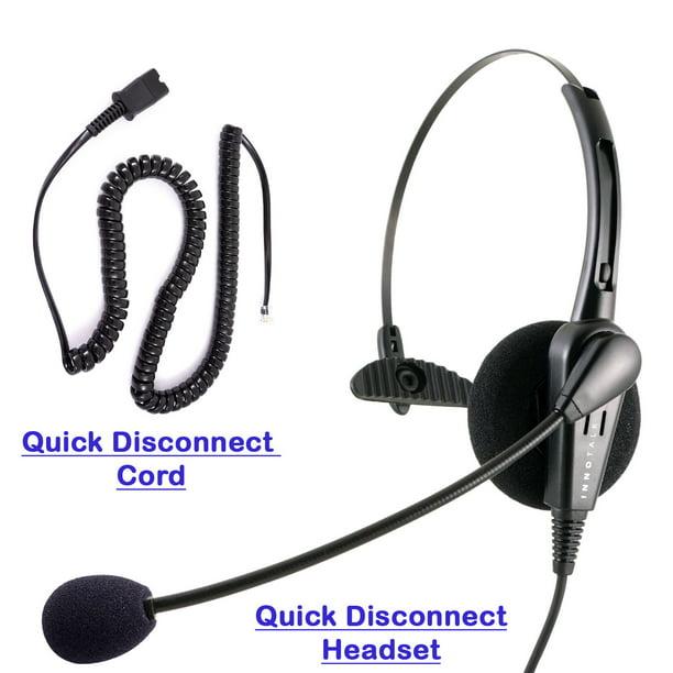 Cisco 8811 8841 8851 8861 8865 Phone Headset And Adapter Call Center Noice Cancelling Economic Monaural Headset Walmart Com Walmart Com