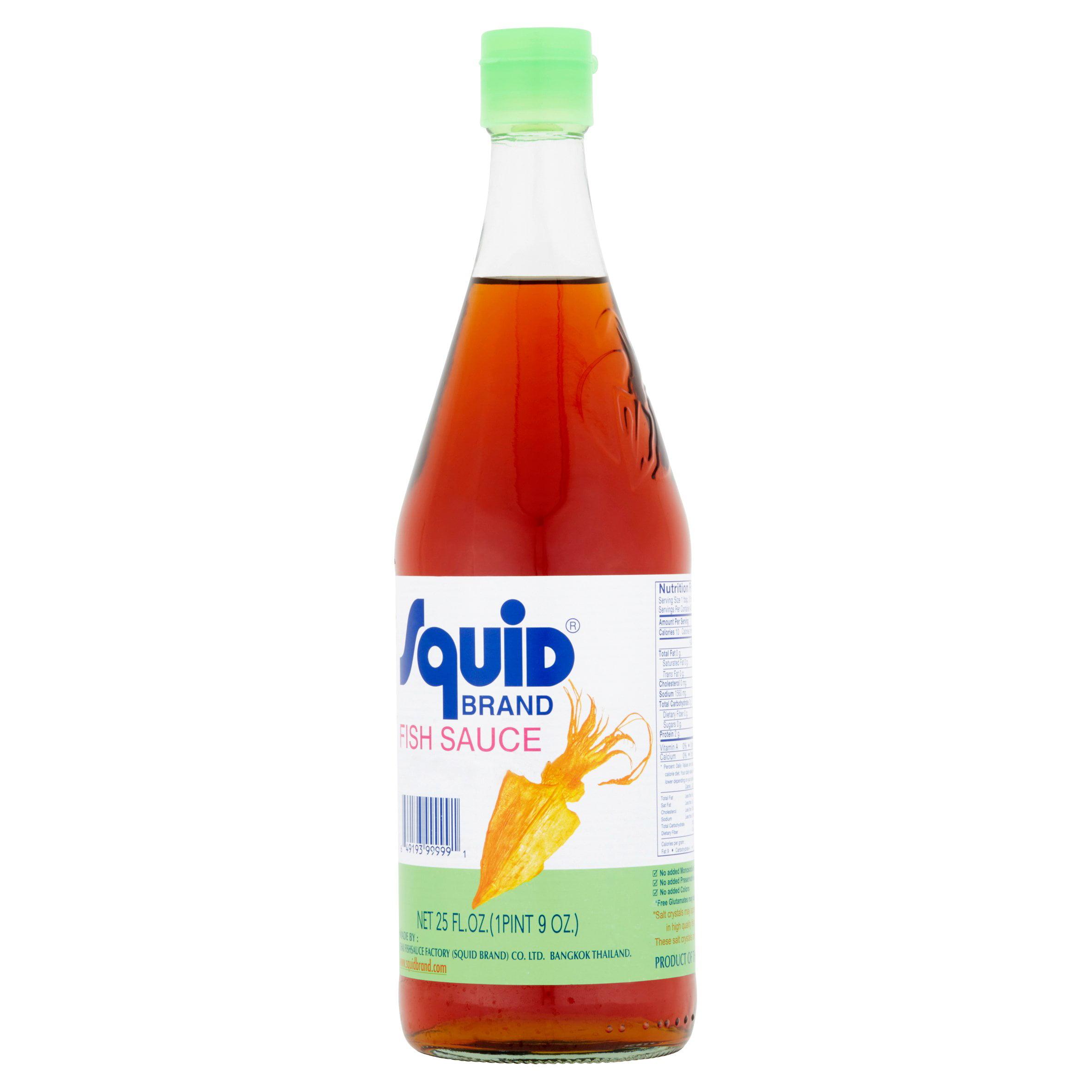 Squid Brand: Fish Sauce, 25 Fl Oz - Walmart.com