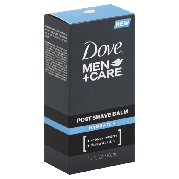 Dove Men+Care Hydrate Post Shave Balm, 3.4 oz