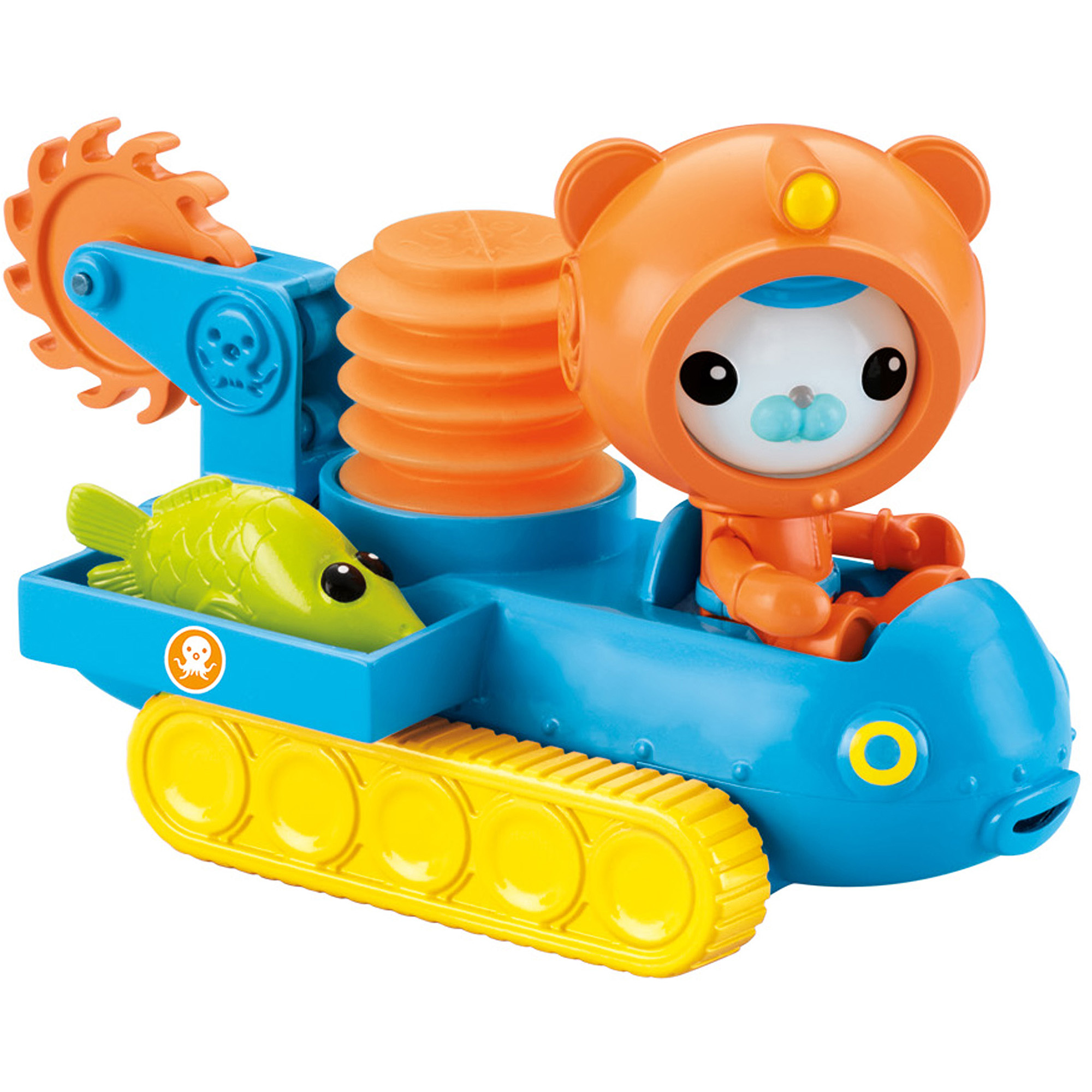 Fisher-Price Octonauts Barnacles' Deep Sea Octo-Buggy Play Set
