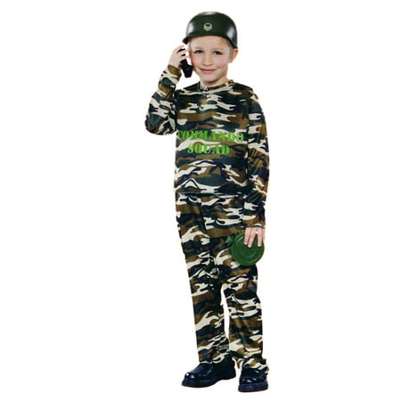 Boys Army Commando Dress Up Halloween - Boys Army Halloween Costume