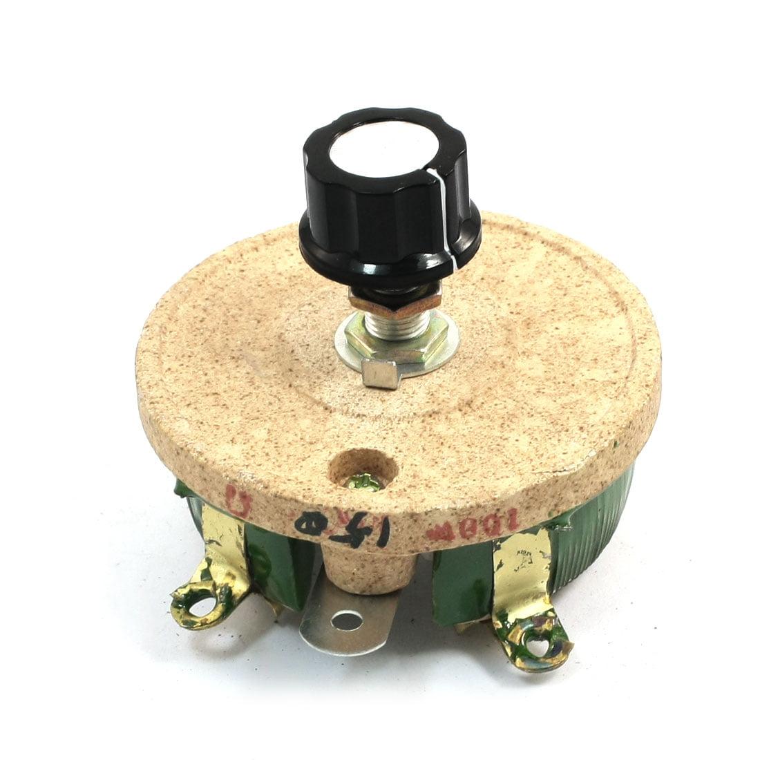 UXcell Single Turn Resistor 100W 150 Ohm Volume Control C...