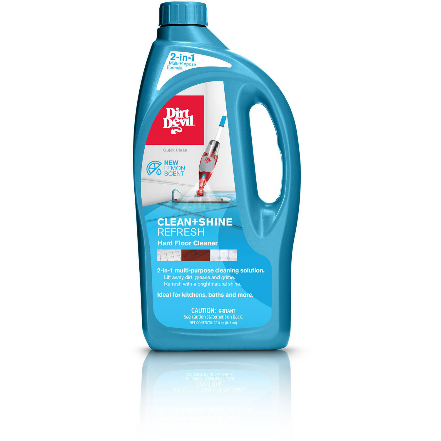 Dirt Devil Clean+Shine Refresh Hard Floor Cleaning Solution, AD30040
