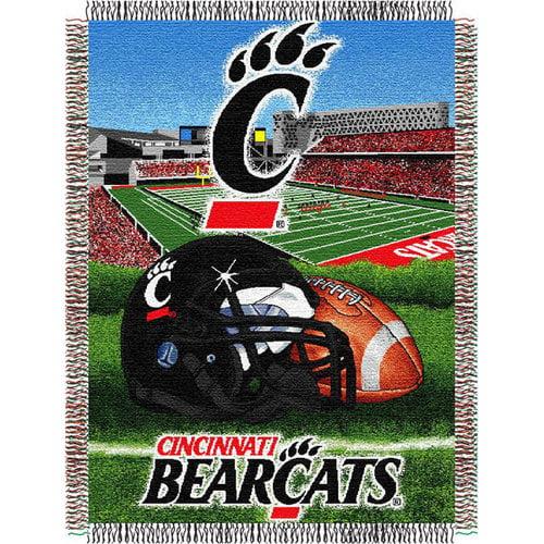 NCAA - Cincinnati Bearcats 48x60 Home Field Advantage Tapestry Throw