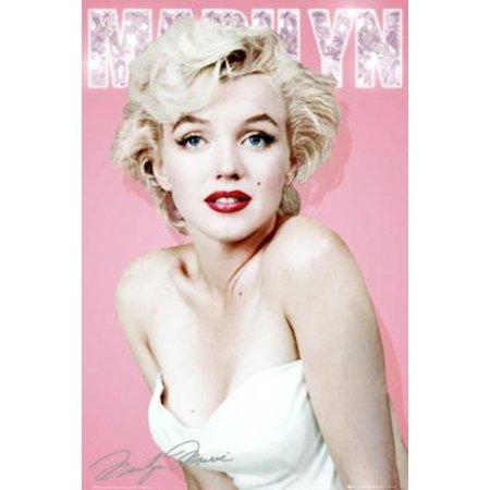 Marilyn Monroe Diamond Movie Poster 24x36 inch