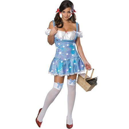 Adult Sexy Sparkle Dorothy Costume Rubies 888294 - Rubies Wizard Of Oz Dorothy Costume