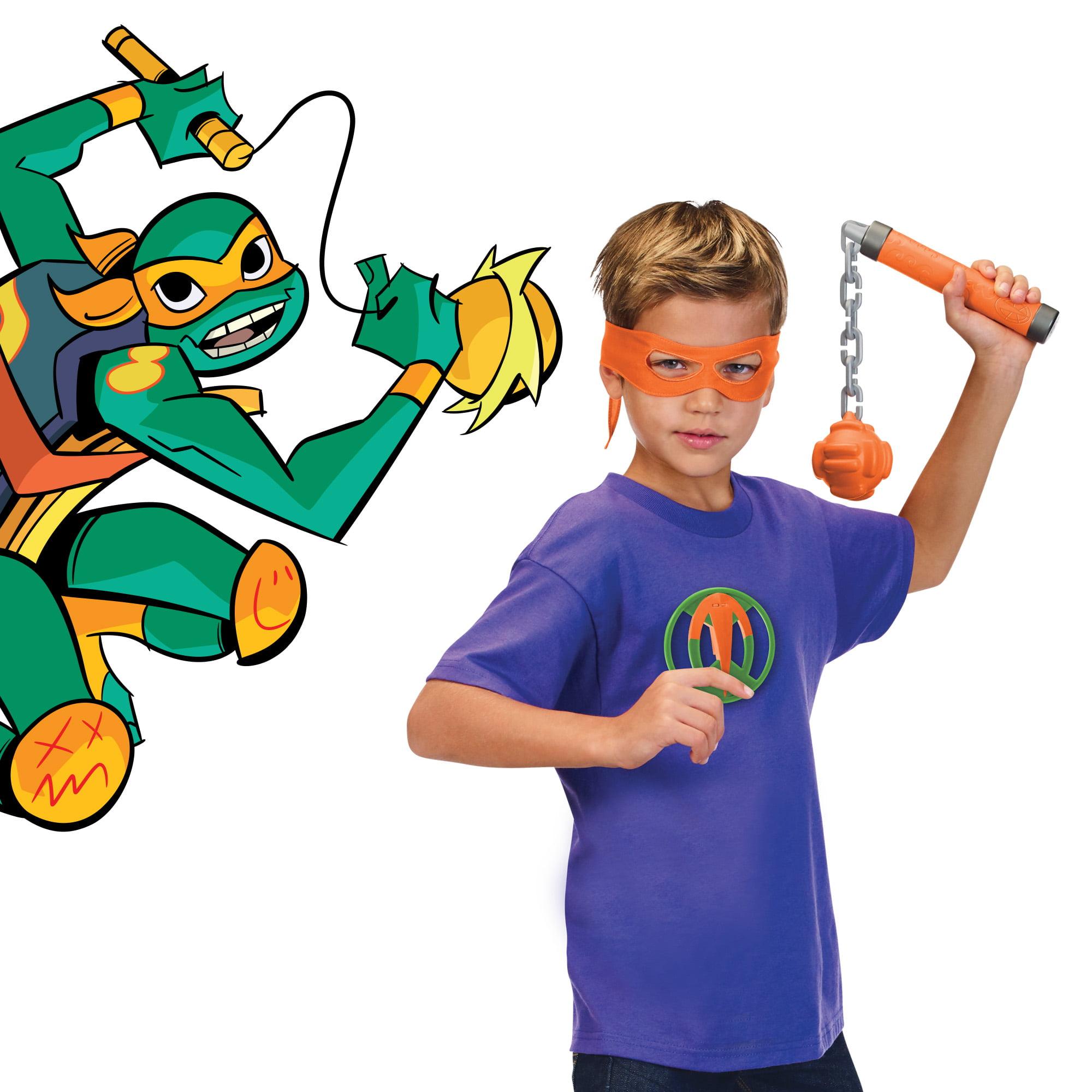 Rise of the Teenage Mutant Ninja Turtles Michaelangelo's Kusarifundo Role Play