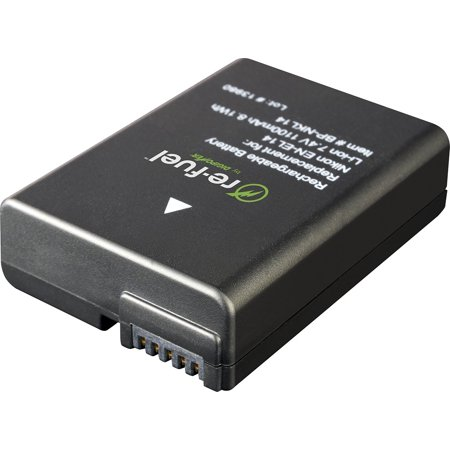 Digipower Re-Fuel Rechargeable Lithium-Ion Replacement Battery for Nikon  EN-EL14 (RF-NKL14)