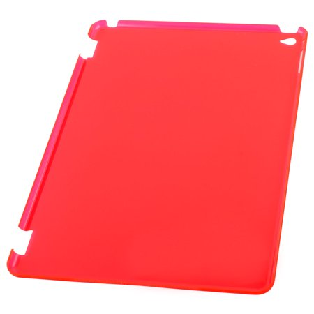 Red Plastic Back Protector Frosted Shell Case Sleeve Cover for iPad Air 2 - image 3 de 6