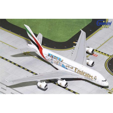 Gemini Emirates A380 1/400 Real Madrid REG#A6-Eug (Emirates 1 400)