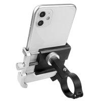 Bicycle Phone Mount Aluminum Bike Phone Holder Shockproof Fixing Bracket