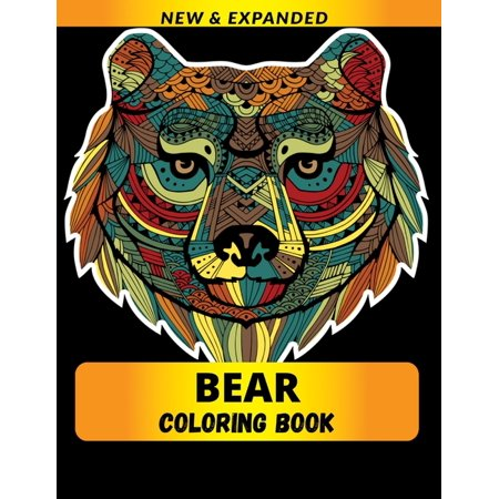 Bear Coloring Book : Stress Relieving Designs for Adults Relaxation (Paperback)