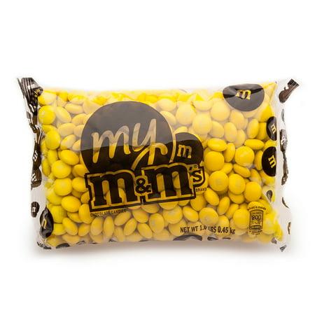 Yellow M&M'S® Bulk Candy Bag (1lb) - Bulk Candy Bags