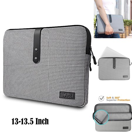 Travel Sleeve (Laptop Sleeve 13.5 inch Laptop/ Chromebook/ Ultrabook Notebook PC Diamond Foam Splash & Shock Resistant Neoprene Sleeve Case Travel)