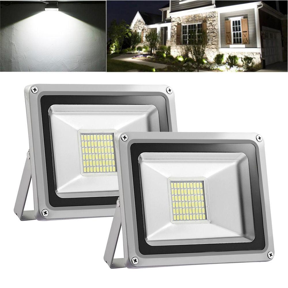 2pcs 30W LED Flood Light Cool White 12V