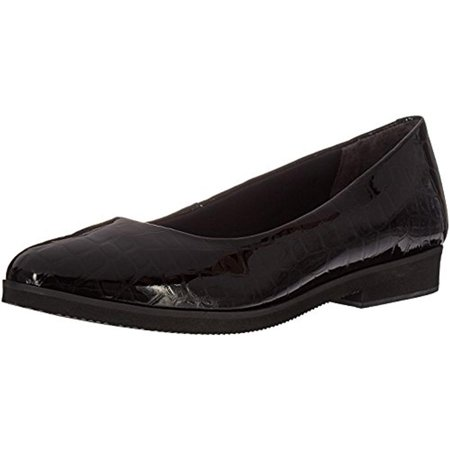 Walking Cradles Womens Bounce Patent Leather Embossed - Embossed Leather Loafers
