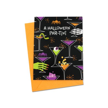 Halloween Par-Tini Invitations (Pack Of 24)](Halloween Kids Invitations)