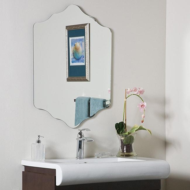 Decor Wonderland Vandam Frame-less Bathroom Mirror