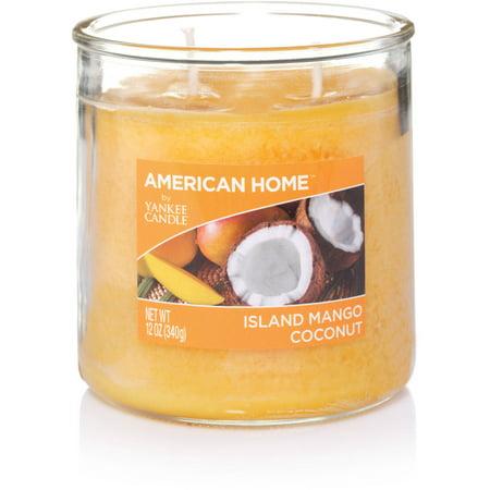 American Home by Yankee Candle Island Mango Coconut, 12 oz Medium 2-Wick Tumbler