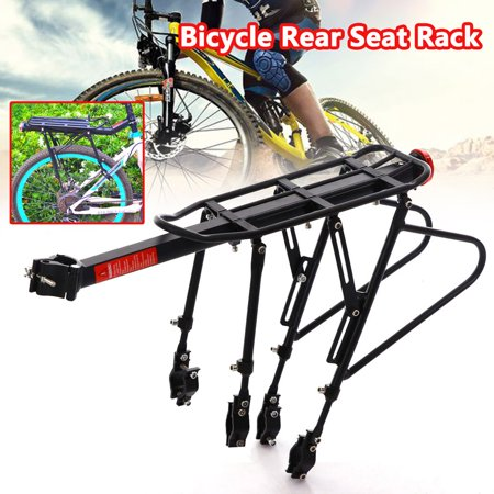 RoseYes Quick Release Bicycle Rear Rack Bike Luggage Carrier Seatpost Bag Holder - image 6 de 10