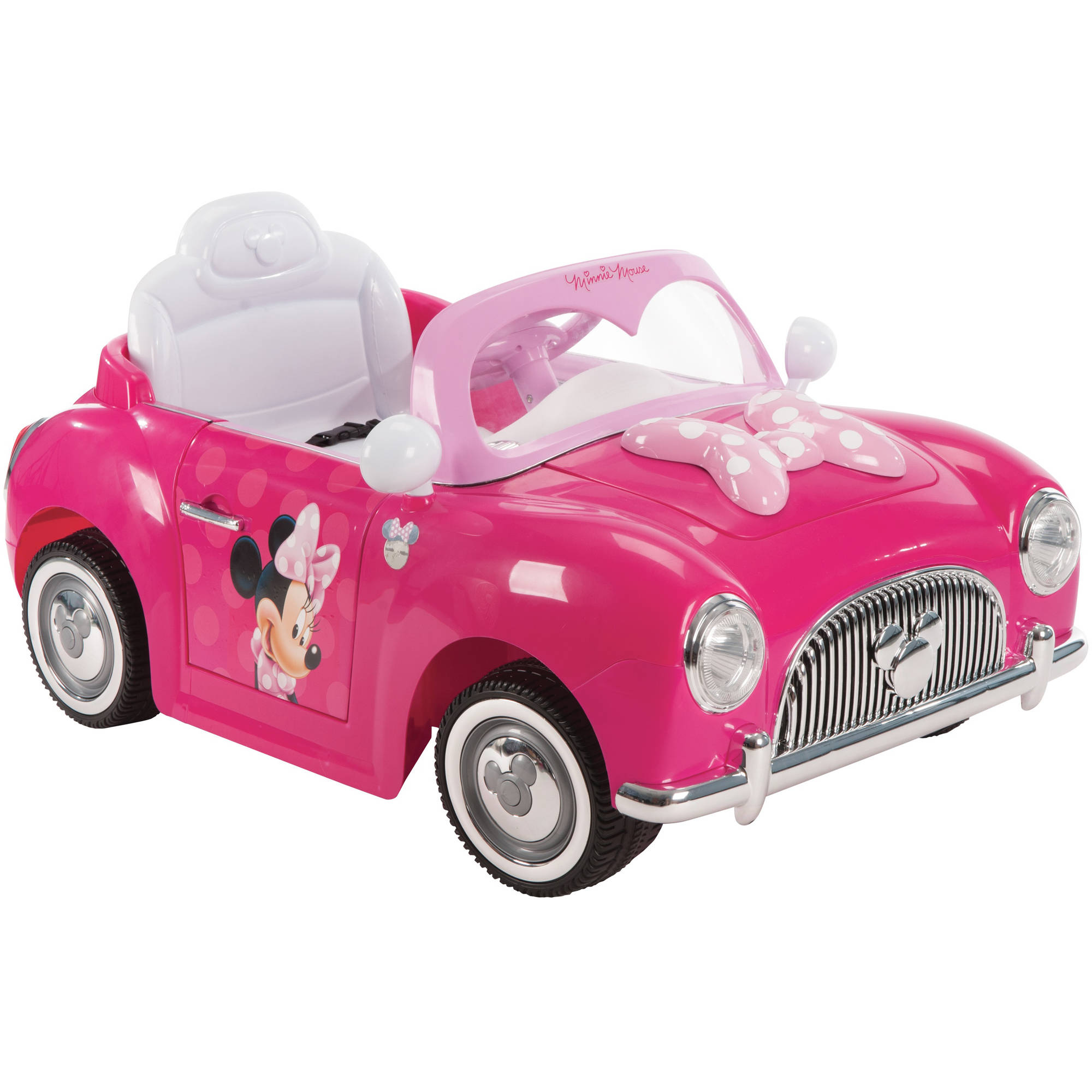 Disney Minnie 6V Pink Battery-Powered Ride-On by Huffy ...