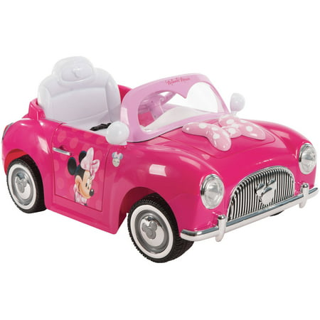Minnie Convertible 6V Battery-Powered Huffy Ride-On by