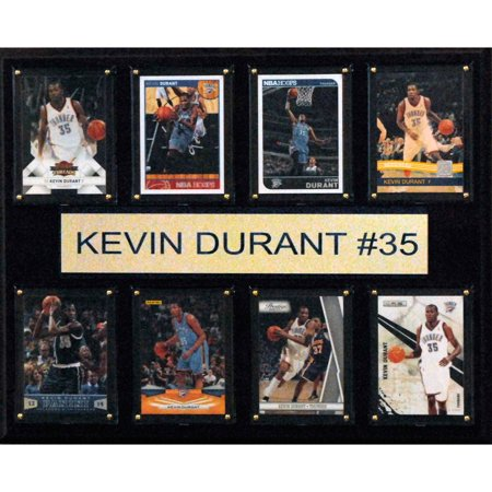 C&I Collectables NBA 12x15 Kevin Durant Oklahoma City Thunder 8-Card Plaque for $<!---->