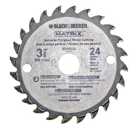 Black and decker bdcmtts matrix saw replace 3 38 24pk carbide black and decker bdcmtts matrix saw replace 3 38 24pk carbide blade greentooth Choice Image
