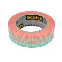 "Scotch Expressions 0.59""x393"" Pastel Tile Washi Tape"