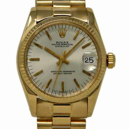 Pre-Owned Rolex Datejust 6827 Gold Women Watch (Certified Authentic & Warranty)