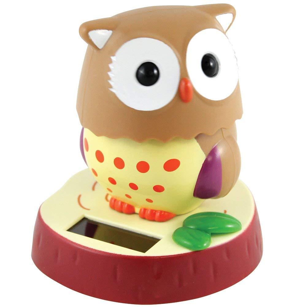 12 Home Decor Gift Ideas From Walmart: Owl Solar Toy Home Decor Birthday Congratulatory Gift -D