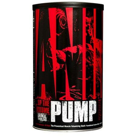 Universal Nutrition Animal Pump, 30 Pack