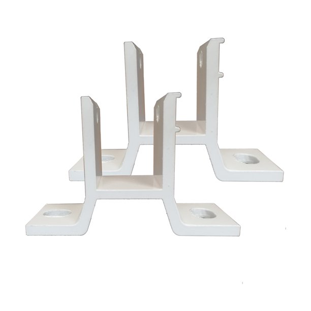 ALEKO 2HBRAWNING Wall Mounting Brackets for Retractable ...