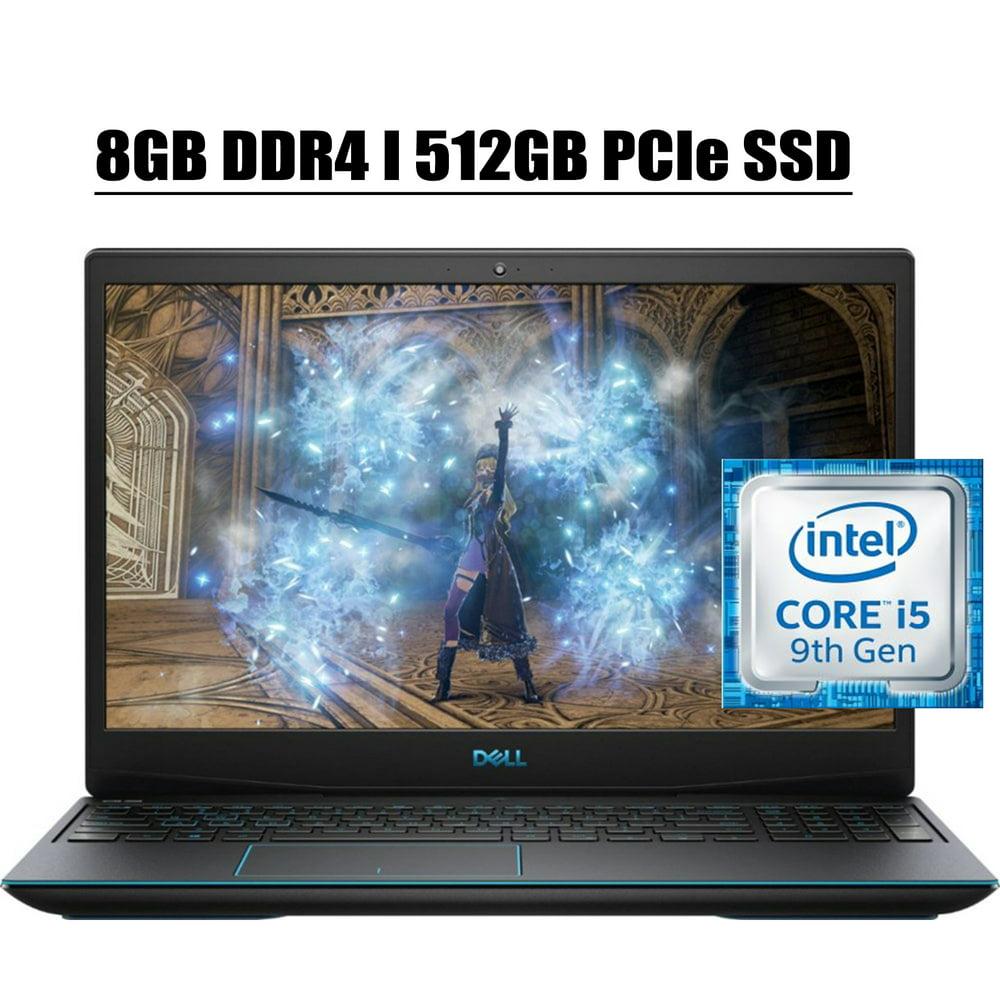 """2020 Newest Dell G3 15 3590 Premium Gaming Laptop Computer I 15.6"""" Full HD IPS I Intel Quad-Core i5-9300H I 8GB DDR4 512GB PCIe SSD I 6GB GTX 1660Ti Max-Q Backlit Win 10"""