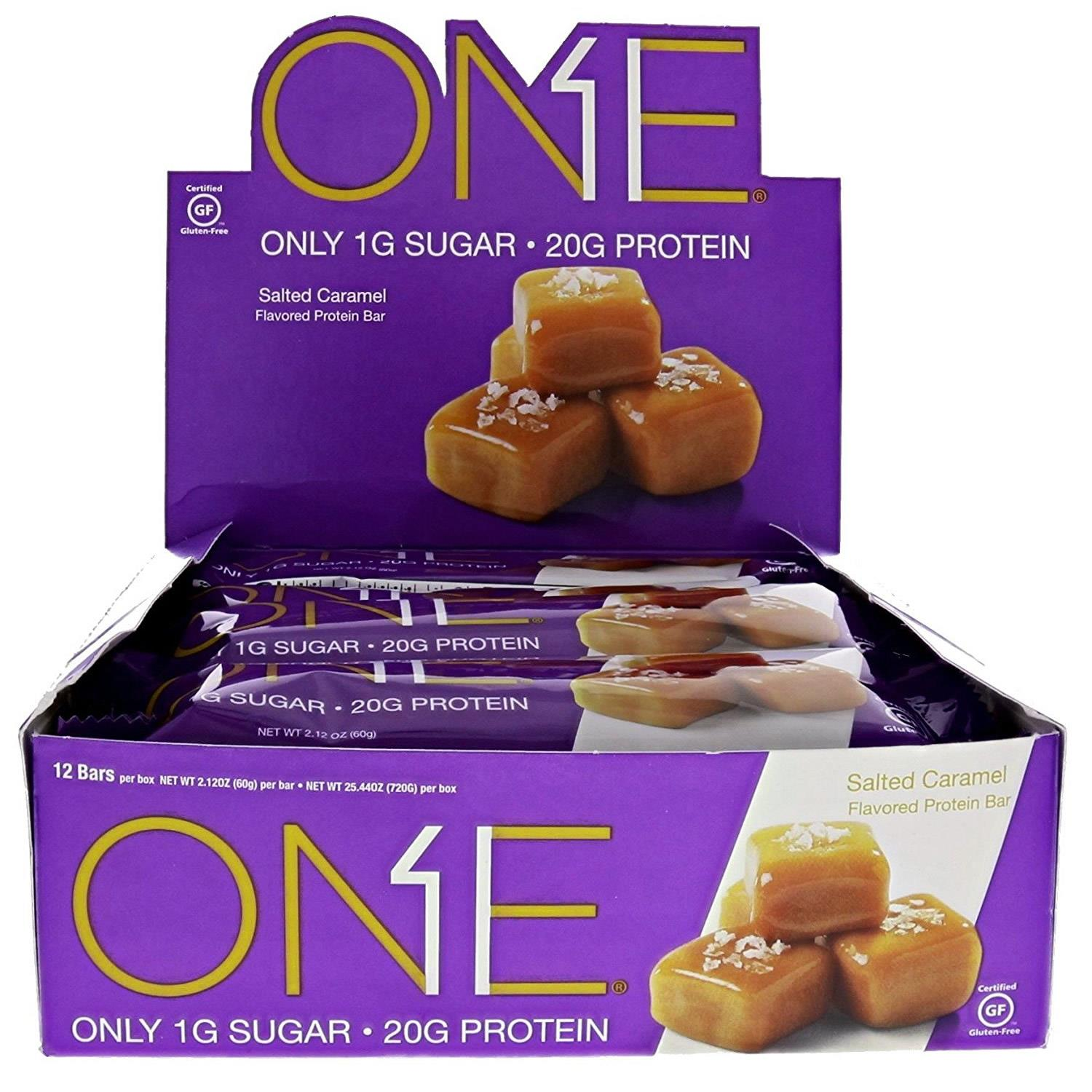 Oh Yeah! One Bar, Salted Caramel, 20g Protein, 12 Ct