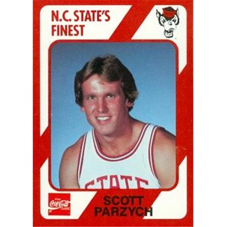 Scott Parzych Basketball Card (N.C. North Carolina State) 1989 Collegiate Collection