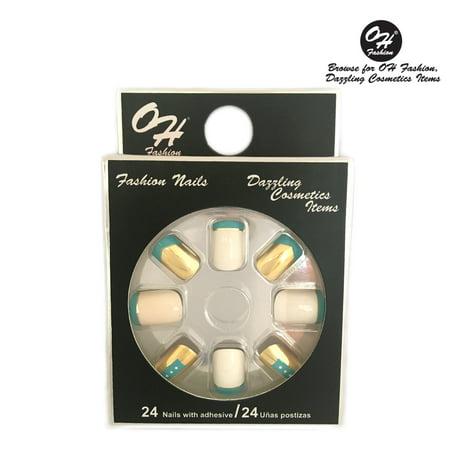 OH Fashion Stick On Nails Cleopatra 24 units](Cleopatra Makeup)