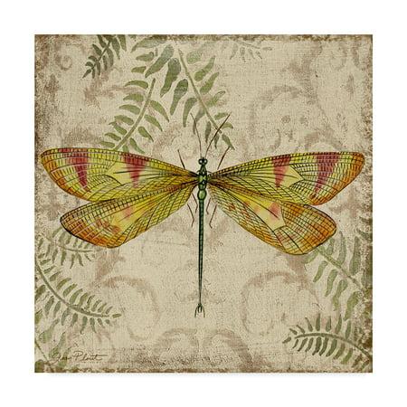 Trademark Fine Art 'Dragonfly Daydreams 1' Canvas Art by Jean (Trademark Global Jean)
