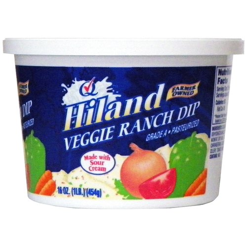 Hiland Veggie Ranch Dip, 16 oz