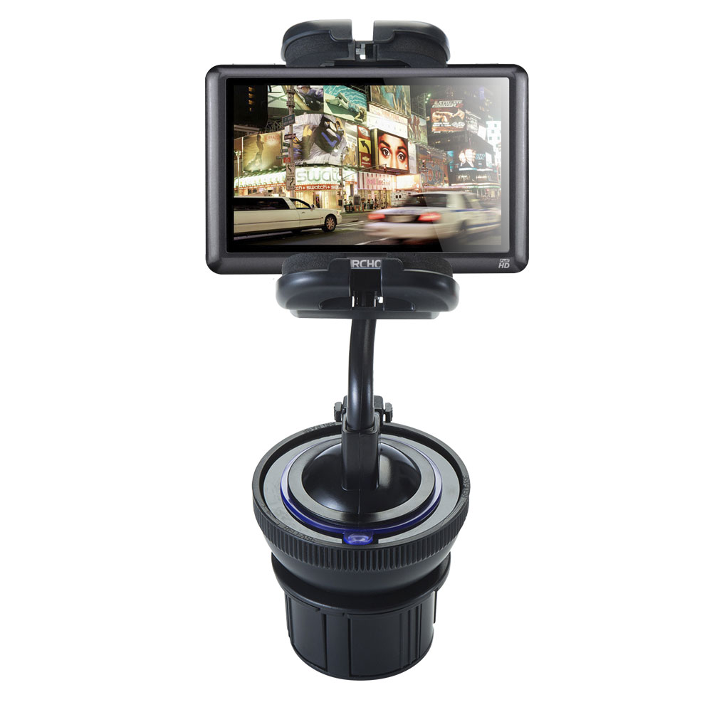 Unique Auto Cupholder and Suction Windshield Dual Purpose Mounting System for Archos 50   53 Platinum Flexible Holder... by Gomadic