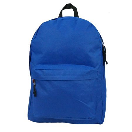 Backpack Classic School Bag Basic Daypack Simple Book Bag 16 Inch