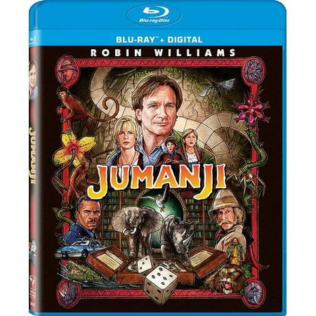 Jumanji (1995) (Blu-ray + Digital) - Halloween 1995