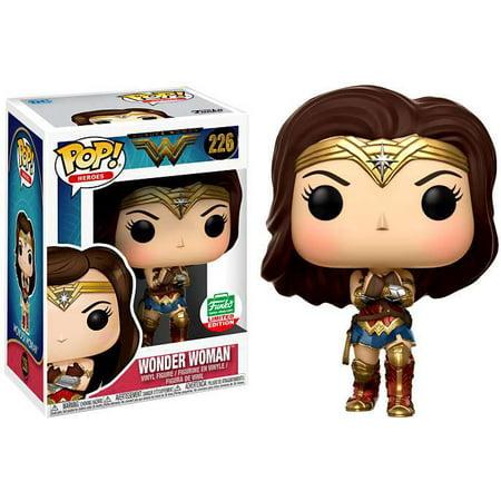 Wonder Woman (With Gauntlets) - DC Heroes Funko Pop! Vinyl Figure #226 Funko Shop - Wonder Woman Gauntlets