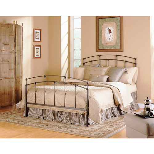 Fashion Bed Group Fenton Queen Bed without Frame, Black Walnut